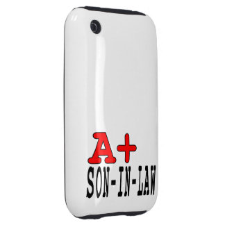 Funny Gifts for Sons in Law : A+ Son in Law Tough iPhone 3 Covers
