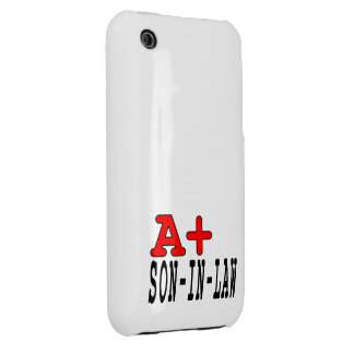 Funny Gifts for Sons in Law : A+ Son in Law iPhone 3 Covers