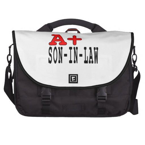 Funny Gifts for Sons in Law : A+ Son in Law Commuter Bags