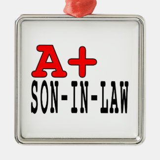 Funny Gifts for Sons in Law : A+ Son in Law Ornament