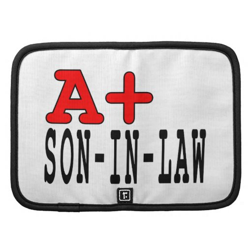 Funny Gifts for Sons in Law : A+ Son in Law Folio Planners