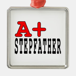 Funny Gifts for Stepfathers : A+ Stepfather Ornaments