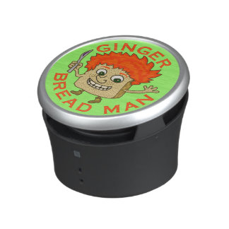 Funny Ginger Bread Man Christmas Pun Bluetooth Speaker