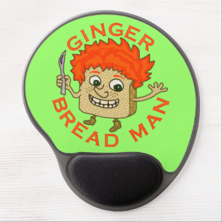 Funny Ginger Bread Man Christmas Pun Gel Mouse Pad