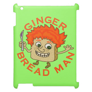 Funny Ginger Bread Man Christmas Pun iPad Cover