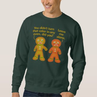 Funny Gingerbread Fake Tan Christmas Ugly Sweater