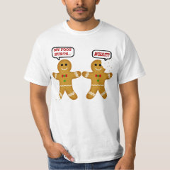 Funny Gingerbread Man Christmas T-Shirt