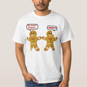 funny gingerbread man christmas t shirt - Funny Christmas T Shirts