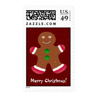 Funny Gingerbread Men, Stamp