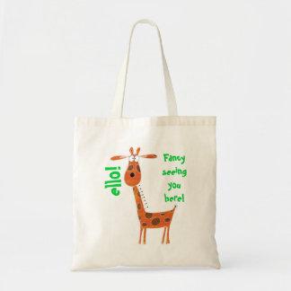 Funny Giraffe Bag