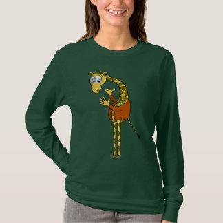 "funny giraffe ""carton"" women' sweaters"