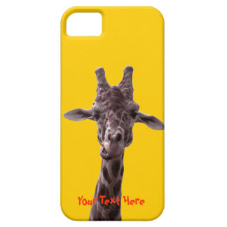 Funny Giraffe iPhone 5 Cover