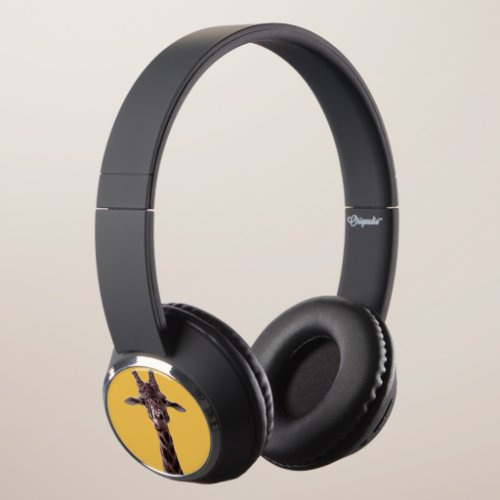 Funny Giraffe Headphones