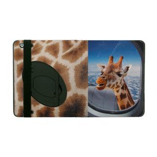 Funny Giraffe iPad 2/3/4 Case with Kickstand iPad Cases