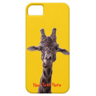 Funny Giraffe iPhone SE/5/5s Case