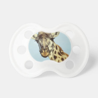 funny giraffe pacifier