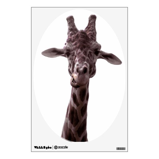 Funny Giraffe Room Graphic