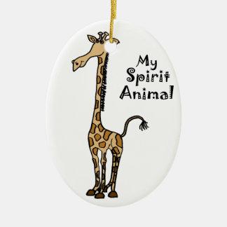 Funny Giraffe Ornaments & Keepsake Ornaments | Zazzle