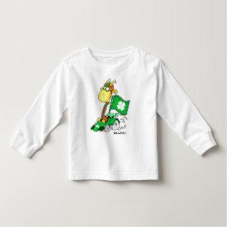 Funny Giraffe St.Patrick's Day Infant T-Shirts