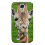 Funny Giraffe Sticking Out Tongue! Samsung Galaxy S4 Cover