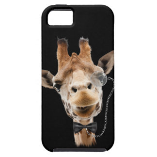 Funny Giraffe with Bowtie and Monocle iPhone 5 Cover