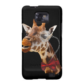 Funny Giraffe with Bowtie and Monocle Galaxy SII Cover