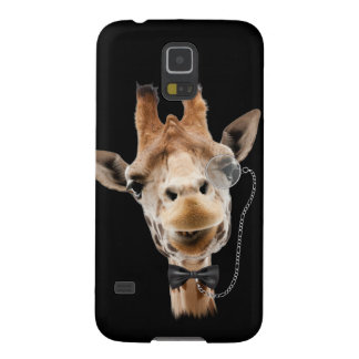 Funny Giraffe with Bowtie and Monocle Galaxy S5 Cases