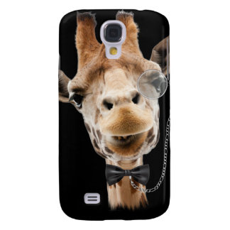 Funny Giraffe with Bowtie and Monocle Samsung Galaxy S4 Case