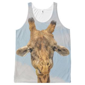 Funny Giraffes All-Over Print Tank Top