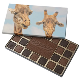 Funny Giraffes Assorted Chocolates
