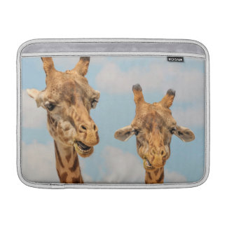 Funny Giraffes MacBook Sleeve