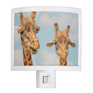 Funny Giraffes Night Light
