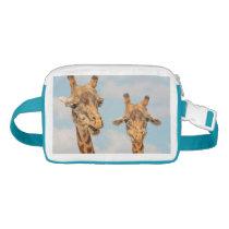 Funny Giraffes Waist Bag