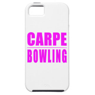 Funny Girl Bowlers Quotes  : Carpe Bowling iPhone SE/5/5s Case