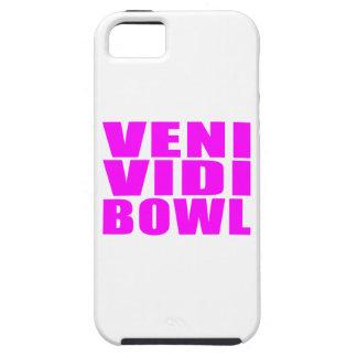 Funny Girl Bowling Quotes : Veni Vidi Bowl iPhone SE/5/5s Case