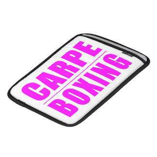 Funny Girl Boxers Quotes  : Carpe Boxing iPad Sleeve