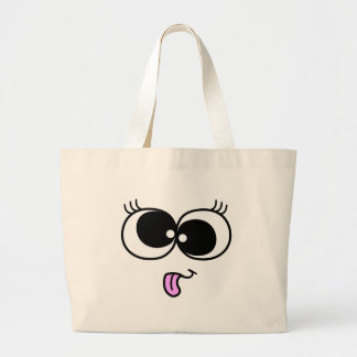 Funny Girl Face Bags