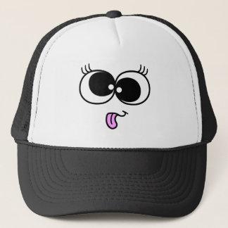 Funny Girl Face Trucker Hat