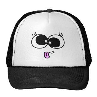 Funny Girl Face Trucker Hats