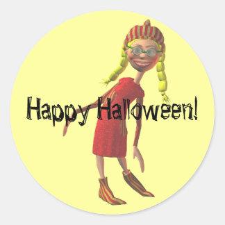 Funny Girl Zlata Sticker