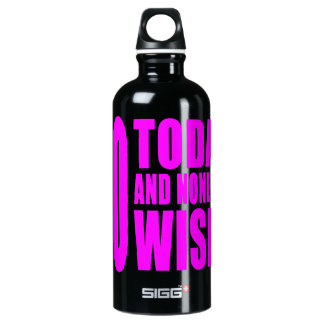 Funny Girls Birthdays  60 Today and None the Wiser SIGG Traveler 0.6L Water Bottle