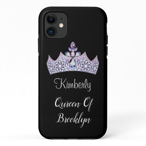 Funny Girls Monogram Queen Or Princess iPhone 11 Case