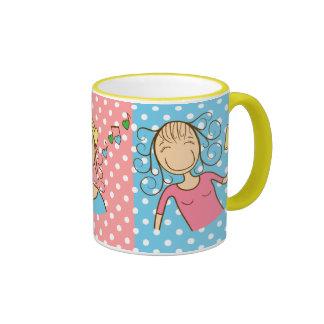 Funny girls mug