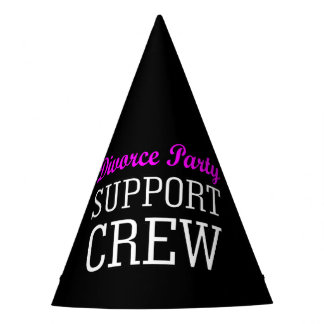 Funny Girls Night Out support crew Divorce Party Party Hat