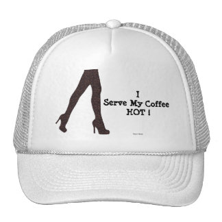 Funny Girly Hot Coffee Fun Humor / House-of-Grosch Trucker Hat