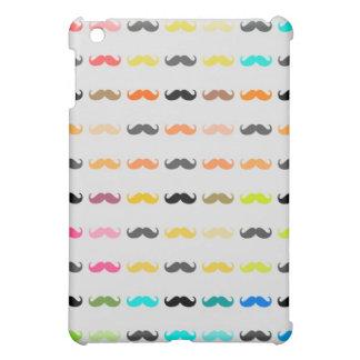 Funny Girly Mustache 3 iPad Mini Covers