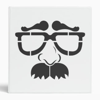 Funny Glasses and Mustache Binder