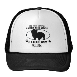 Funny glen designs trucker hat