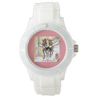 Funny Gnu Age Hipsters Womens Watch by Rick London