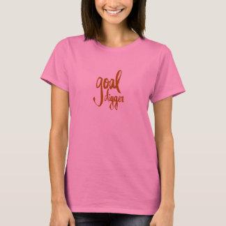 FUNNY GOAL DIGGER PLAY ON WORDS ATTITUDE MOTIVATIO T-Shirt